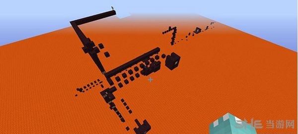 我的世界1.7.2岩浆跑酷地图MOD截图2