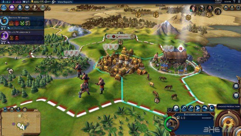 文明6单位重叠MOD截图0