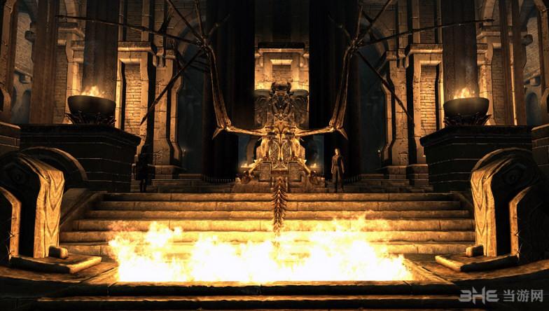 上古卷轴5天际重制版灵魂之刃城堡MOD截图0