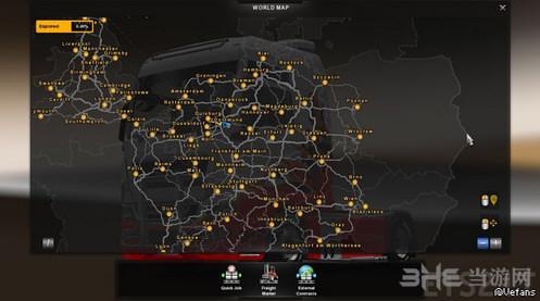欧洲卡车模拟2无限金钱地图全开通用存档截图0