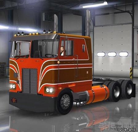 美国卡车模拟2 v1.4.x彼得比尔特(擎天柱)352MOD截图0