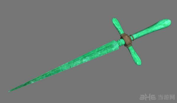 上古卷轴5天际重制版十字匕首MOD截图1