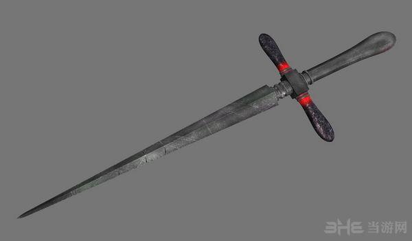 上古卷轴5天际重制版十字匕首MOD截图2