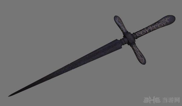 上古卷轴5天际重制版十字匕首MOD截图4