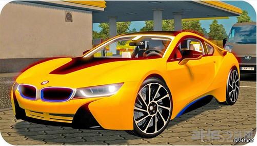 欧洲卡车模拟2 v1.26宝马BMWi8MOD截图0
