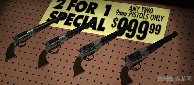 求生之路2孤胆英豪雷明顿手枪MOD截图0