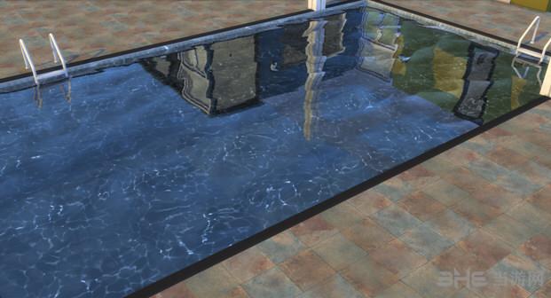 模拟人生4蓝色泳池MOD截图0