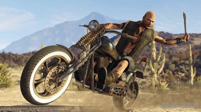 侠盗猎车手5摩托车骑手近战MOD截图0