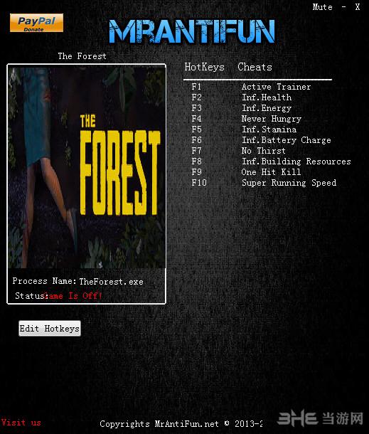 森林十项修改器截图0