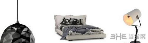 模拟人生4白色床上用品MOD截图2