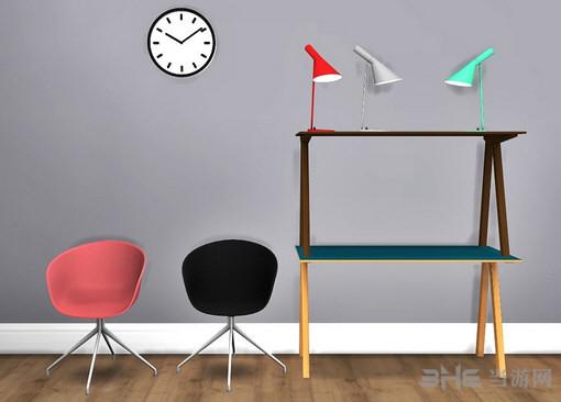 模拟人生4极简红白黑家具MOD截图2