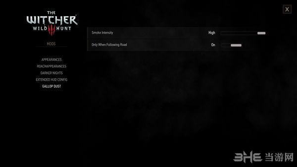 巫师3:狂猎v1.31骑马时更好的尘土效果MOD截图1