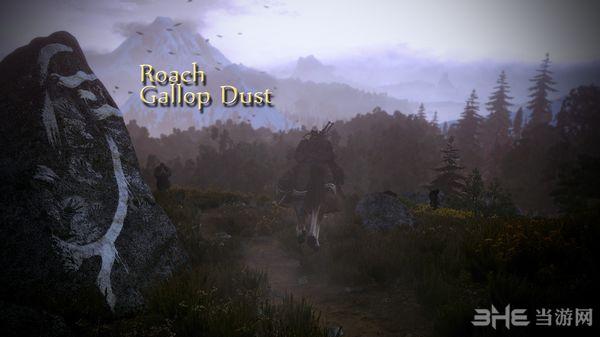 巫师3:狂猎v1.31骑马时更好的尘土效果MOD截图0
