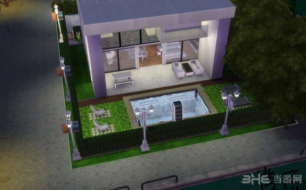 模拟人生4圣莫尼卡别墅MOD截图3