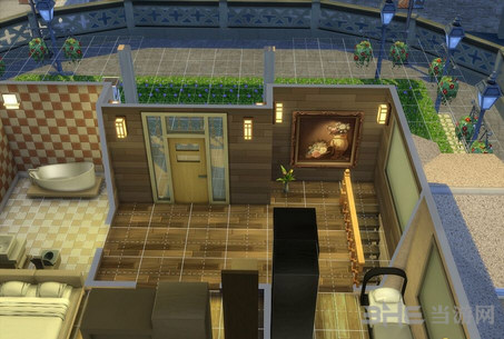 模拟人生4防日式温馨小屋MOD截图2