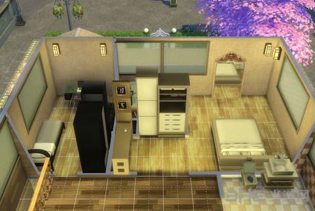 模拟人生4防日式温馨小屋MOD截图3