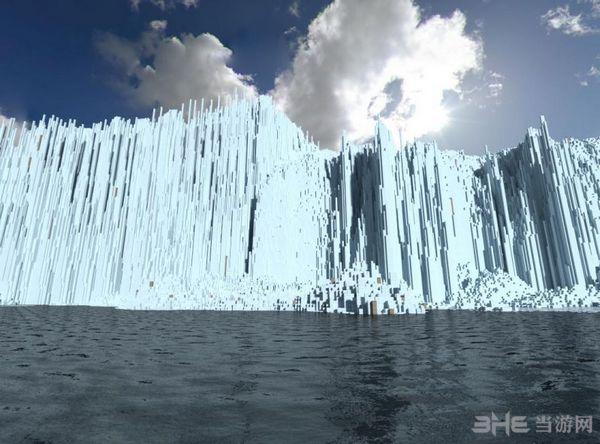 我的世界GlacierHeights冰川地图MOD截图2