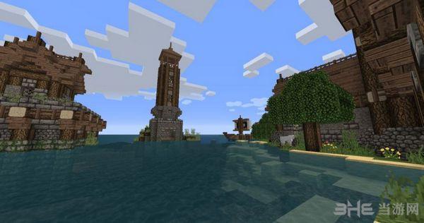 我的世界中世�o村庄地图MOD截图2