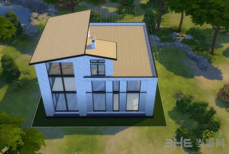 模拟人生4黑白简欧风格房屋MOD截图1