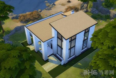 模拟人生4黑白简欧风格房屋MOD截图2