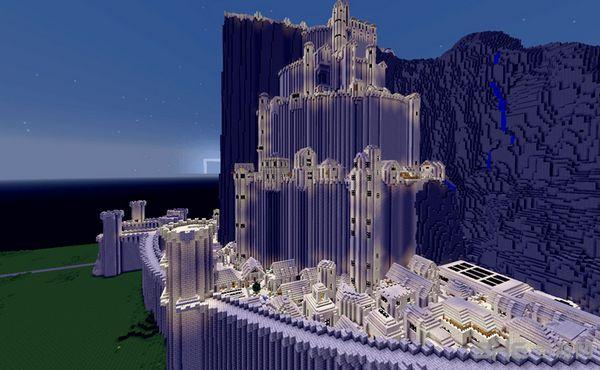 我的世界米纳斯蒂里斯城堡地图MOD截图1