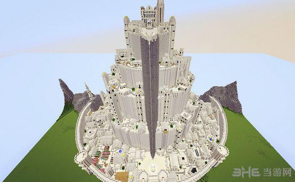 我的世界米纳斯蒂里斯城堡地图MOD截图0