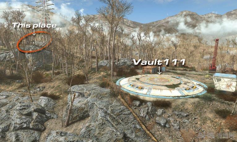 辐射4 Automag手枪MOD截图0