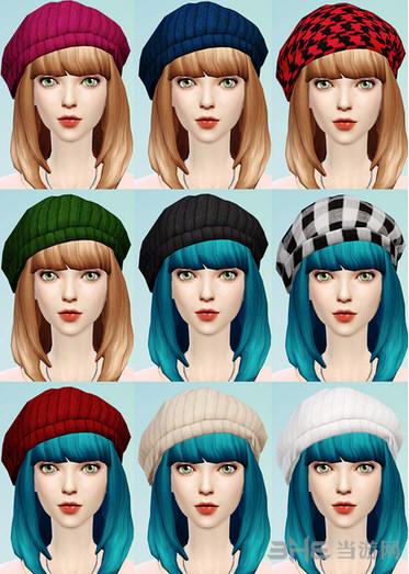 模拟人生4九色贝雷帽MOD截图0