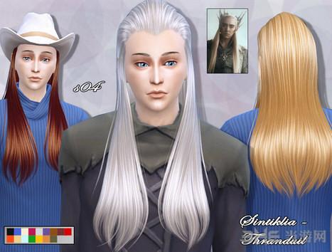 模拟人生4精灵王子头发MOD截图0