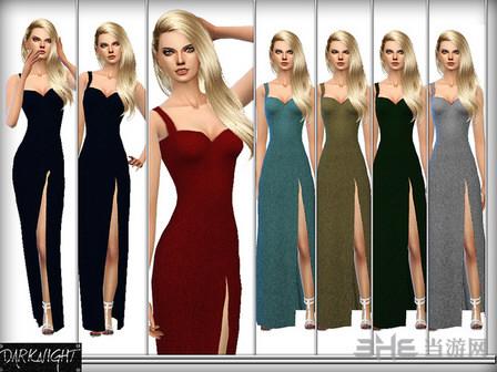 模拟人生4分叉礼服MOD截图0