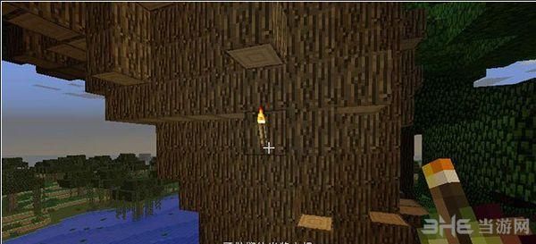 我的世界1.8可抛掷的火把MOD截图1