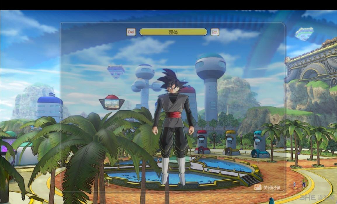 龙珠超宇宙2黑悟空服装MOD截图1