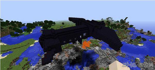 我的世界1.8雄鹰号飞船地图截图0
