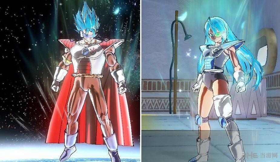 龙珠超宇宙2自建赛亚男女超2超3超蓝截图2