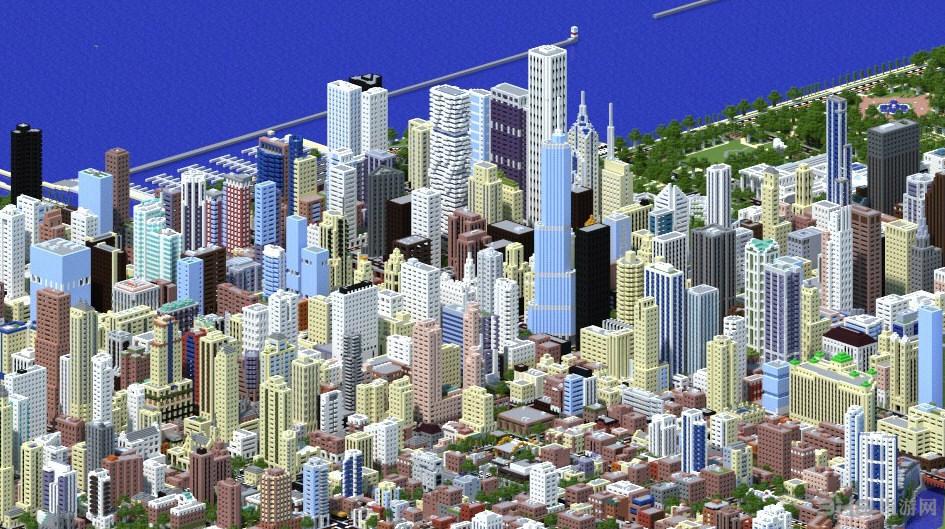 我的世界1:4芝加哥城地图存档截图5