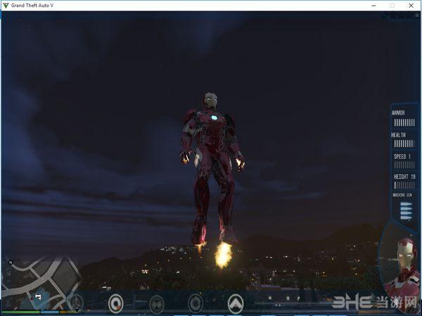 侠盗猎车手5钢铁侠Mark46铠甲套装MOD截图2
