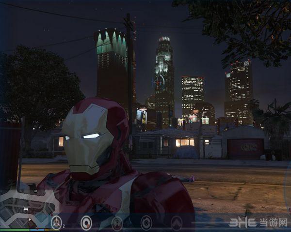 侠盗猎车手5钢铁侠Mark46铠甲套装MOD截图1