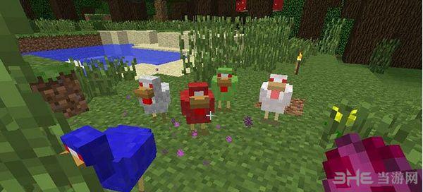 我的世界1.7.10战斗鸡MOD截图0