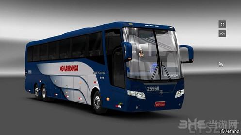 欧洲卡车模拟2 v1.25-1.26大巴Busscar 360MOD截图0