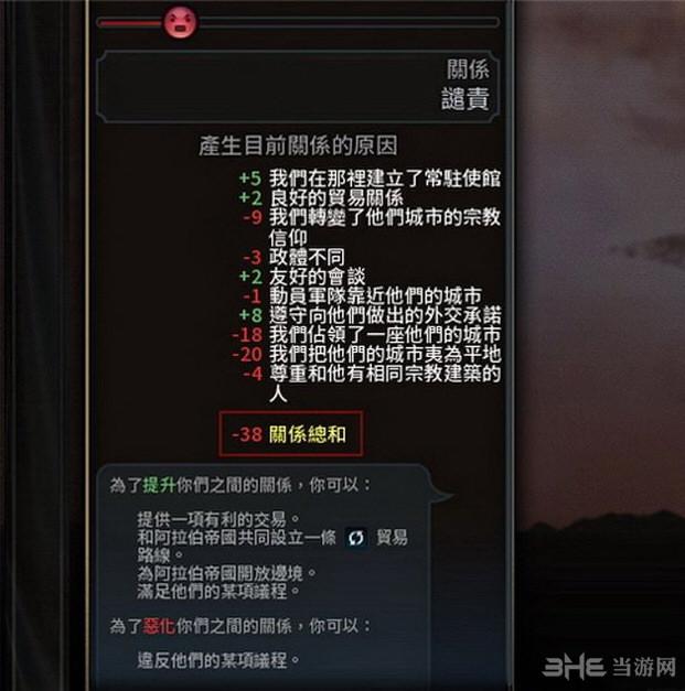 文明6显示外交关系总和MOD截图0