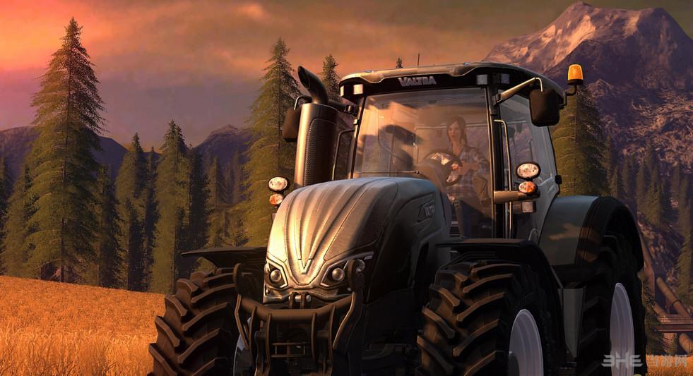 模拟农场17范围更大的播种机MOD截图0