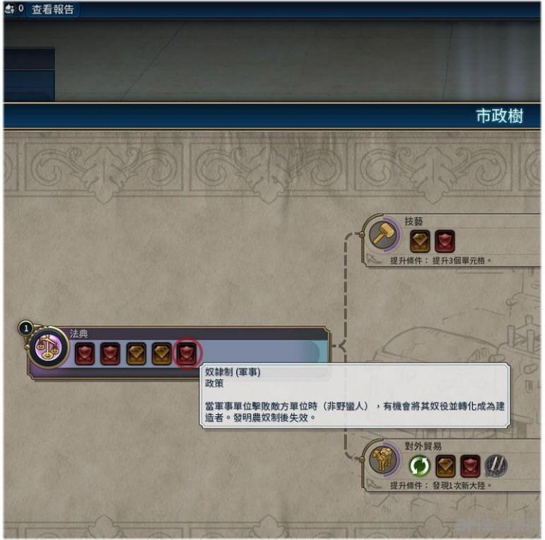 文明6新增政策奴隶制MOD截图0