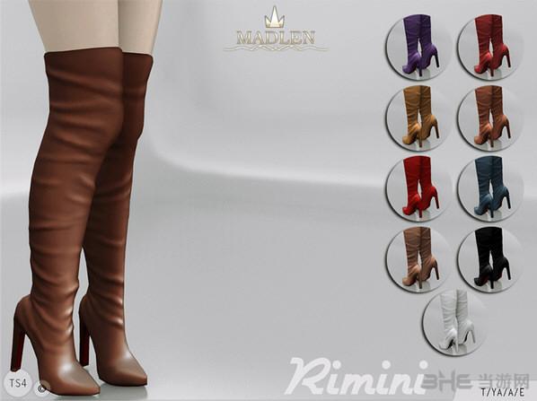 模拟人生4 9色里米尼靴子MOD截图0