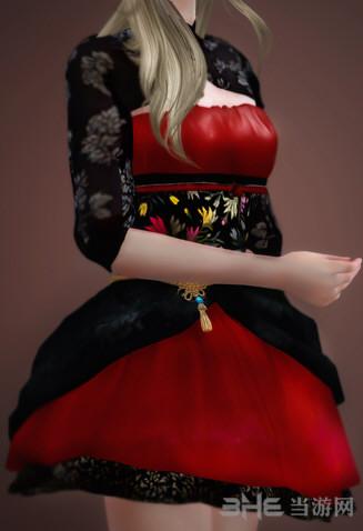 模拟人生4中国风小裙子MOD截图0