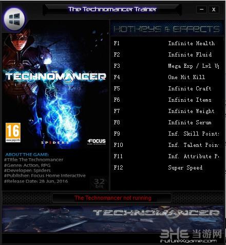 《机械巫师》十二项修改器截图0