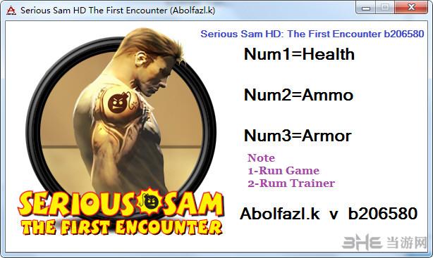 英雄萨姆HD二次遭遇三项修改器截图0