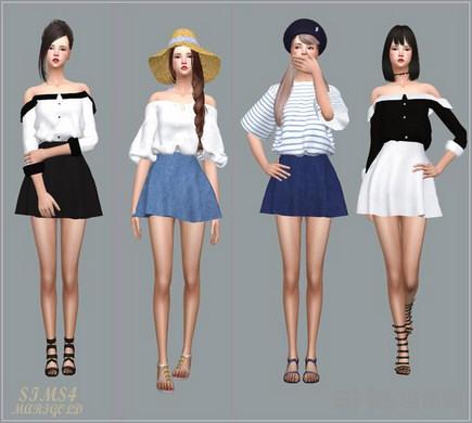 模拟人生4简单的布裙子MOD截图0