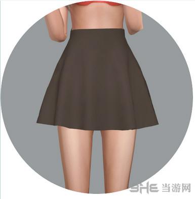 模拟人生4简单的布裙子MOD截图1
