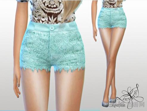 模拟人生4 3色性感短裤MOD截图1