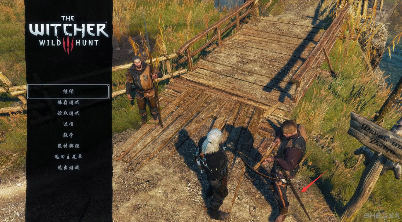 巫师3:狂猎V1.31NPC剑鞘修复MOD截图0